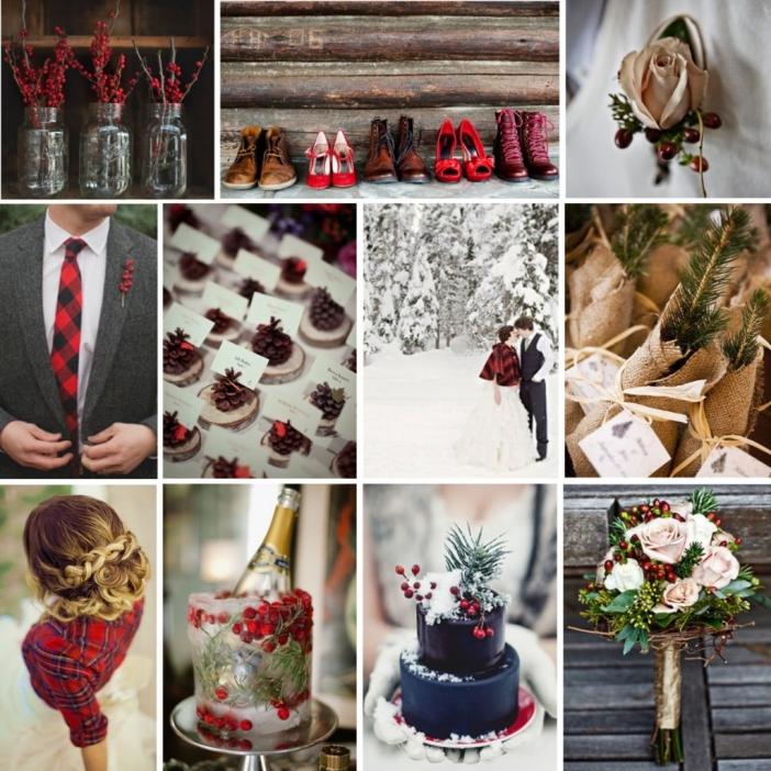 Christmas Barn Wedding: 25 DAYS OF CHRISTMAS {Rustic Wedding} » Style By Design