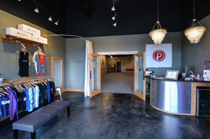 Heres A Look At The Final Product This Is Front Reception Retail Area