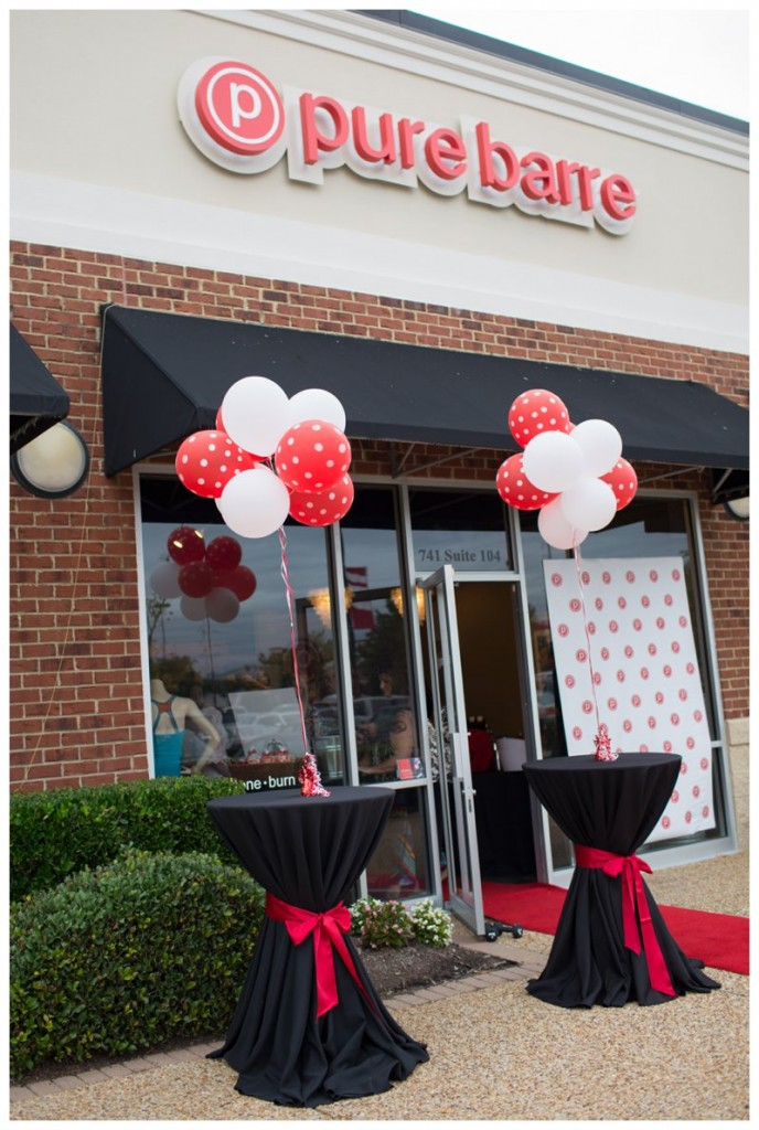 Pure Barre Virginia Beach Interior Design
