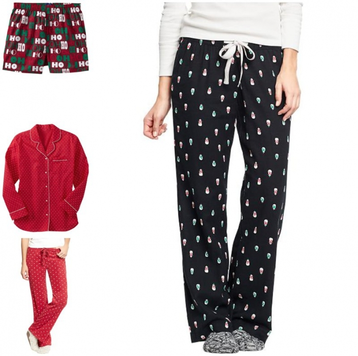 old navy christmas pjs