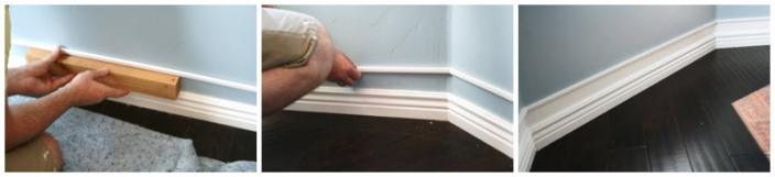 base and crown moulding idea