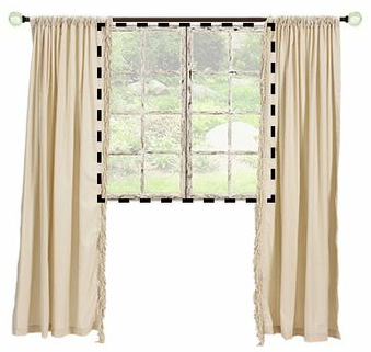 curtain panel width