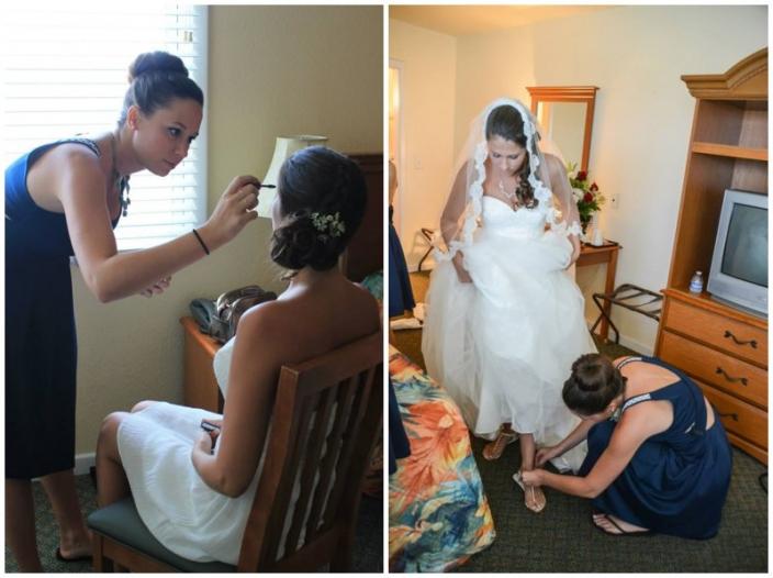 hatteras wedding