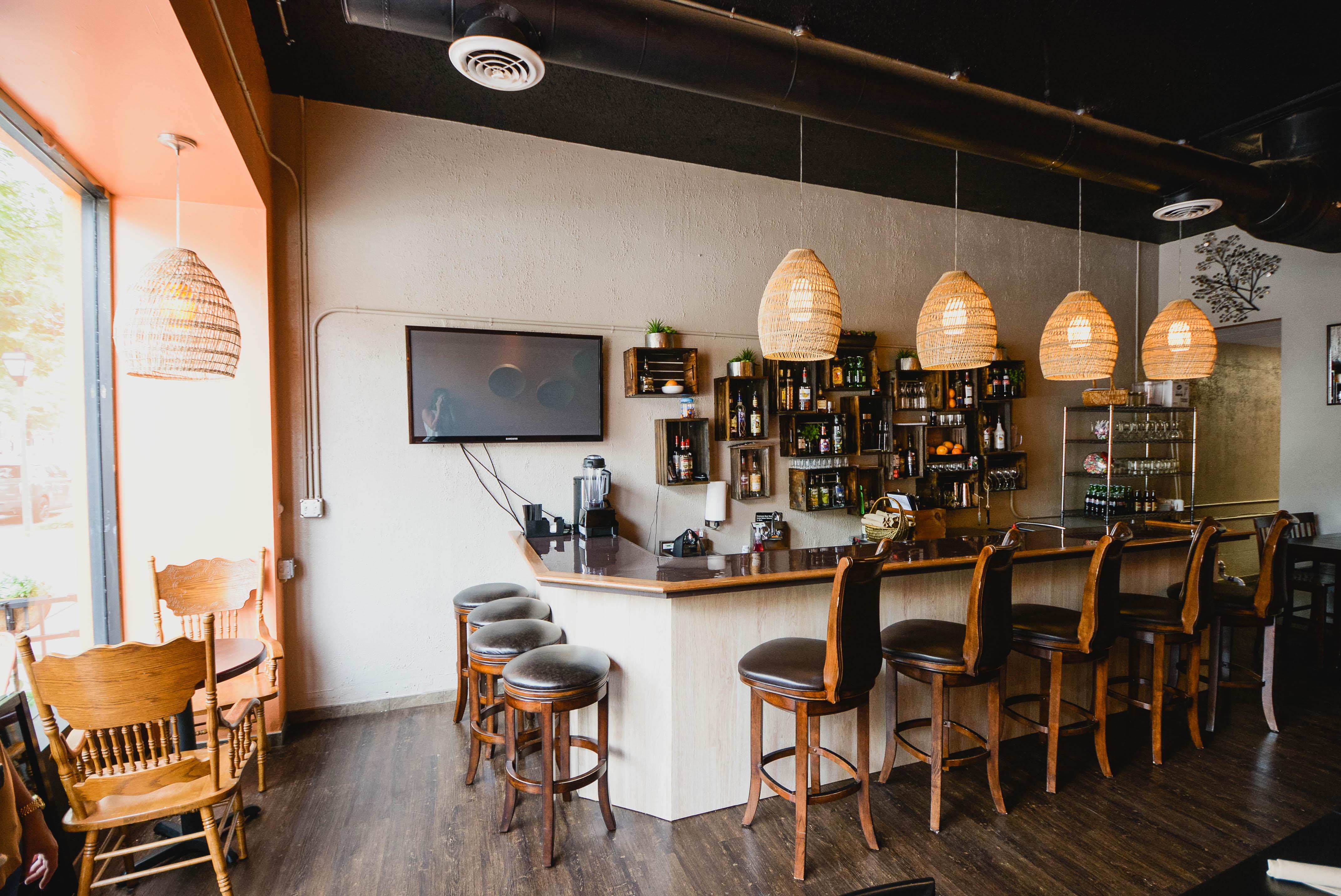 Norfolk restaurant design pimento island bistro style