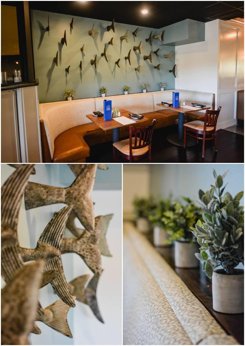 Restaurant interior design the virginia company style